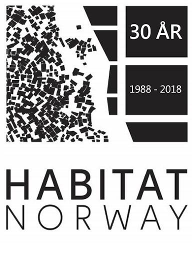 Logoen til organisasjonen Habitat Norge.